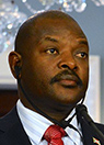 Pray for Pierre Nkurunziza, President of Burundi