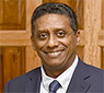 Pray for Danny Faure, President of the Republic of Seychelles