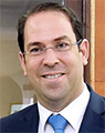 Pray for Youssef Chahed, Prime Minister of Tunisia