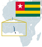 Please pray for what God is doing in the country of Togo