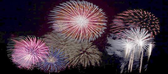 Fireworks of Praise!