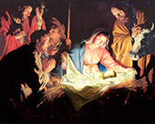 Away in a manger - let is worship and proclaim Him is is Lord of all!