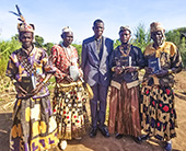 Pastor Jonas with Congolese tribal leaders