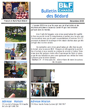 Bédards Newsletter Update