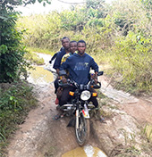 Congo by motorcycle