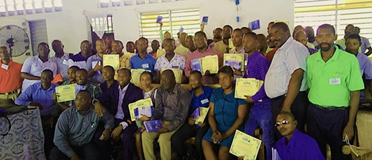 Haiti Bible School Class - July 2021